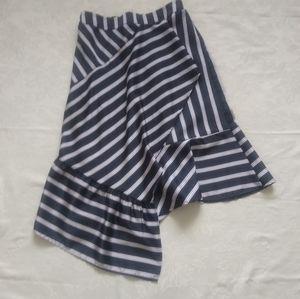 Dresses & Skirts - Striped asymmetrical skirt